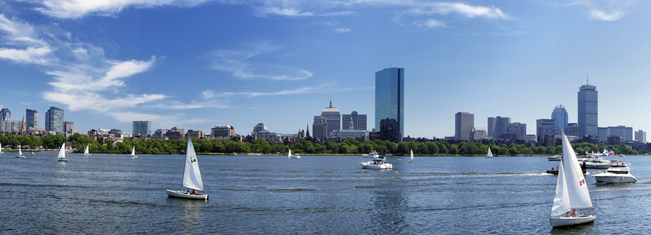 Boston Charles River Skyline