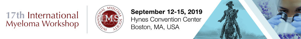 17th International Myeloma Workshop - Boston 2019